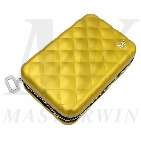 Aluminum_Quilted_Zipper_Wallet_QC16-001V
