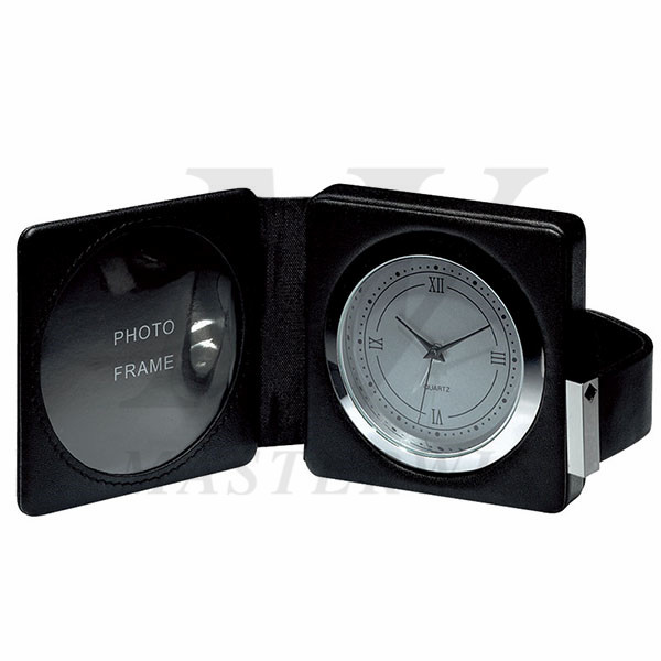 Travel Alarm Clock with Photo Frame_85227_s1