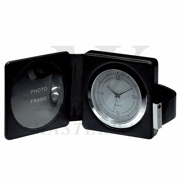 Travel Alarm Clock with Photo Frame_85227
