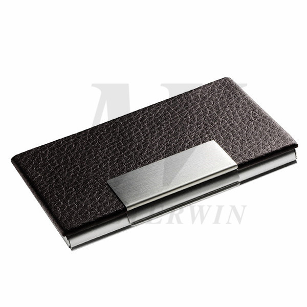 PU_Metal Name Card Case(with Aluminium back)_87544-01