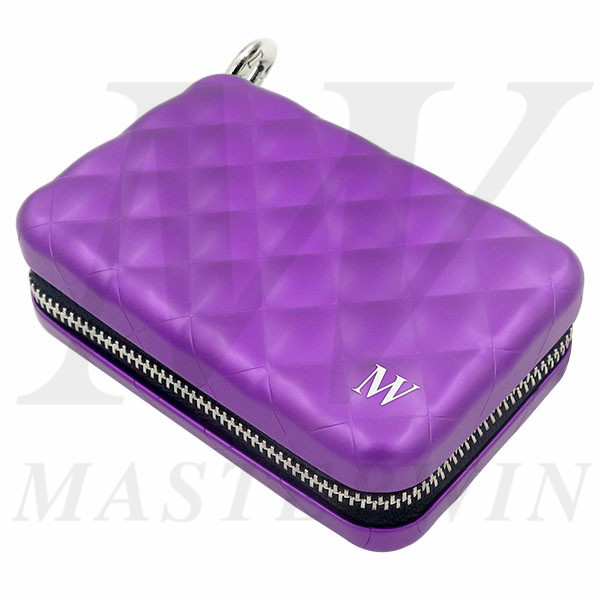Aluminum_Quilted_Zipper_Wallet_QC16-001AG