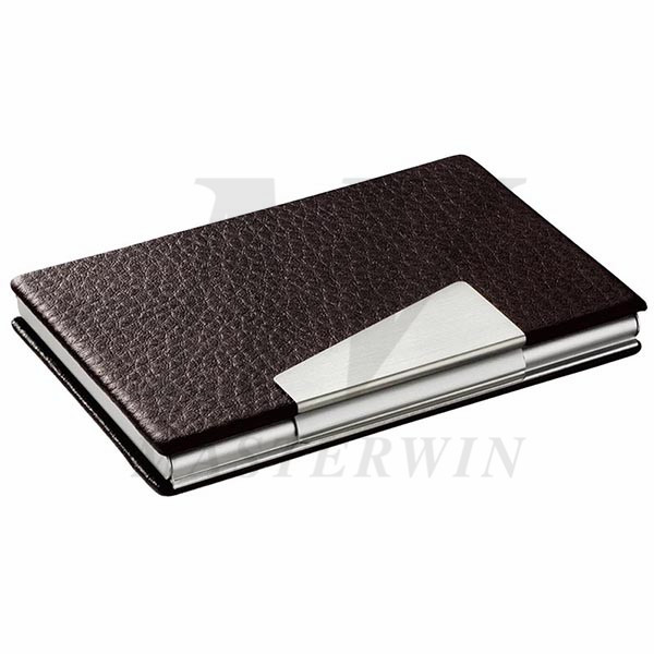 PU_Metal Name Card Case_87155-01