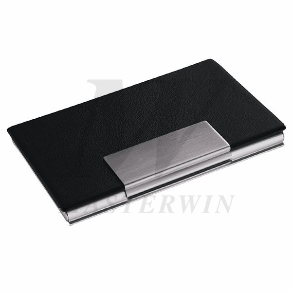 PU_Metal Name Card Case(with Aluminium back)_87544-05