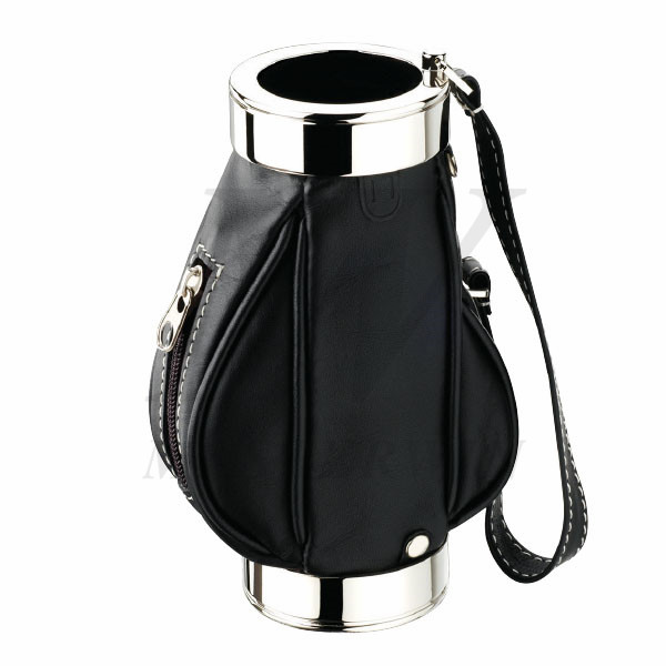 Leather_Metal Pen Holder_87317
