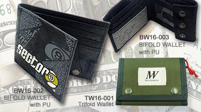 BIFOLD WALLET with PU_BW16-003_BW16-003