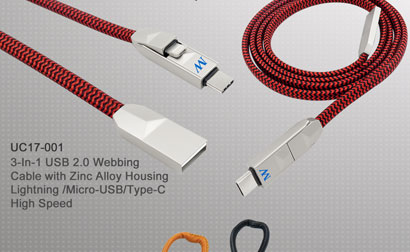 3-In-1_USB2.0_Webbing_Cable_with_Zinc_Alloy_Housing