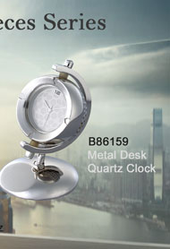 B86159_Metal_Desk_Quartz_Clock