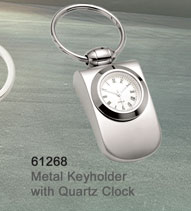 61268_Metal_Keyholder_with_Quartz_Clock