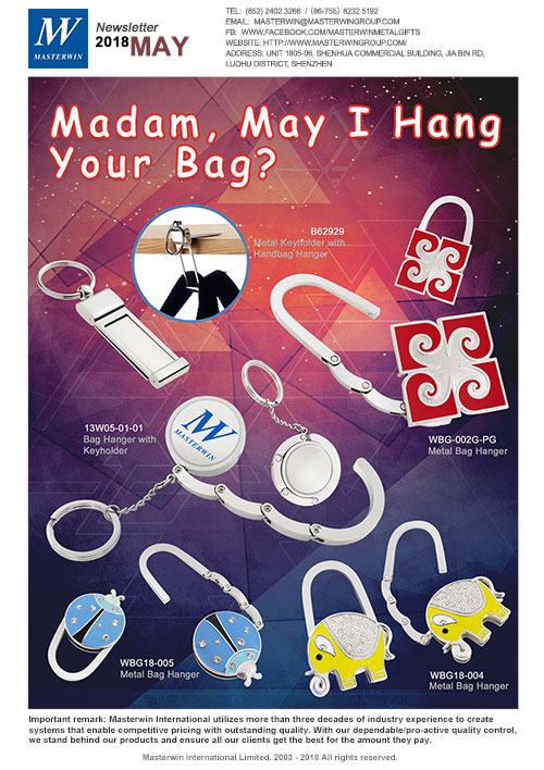 Madam, May I hang your bag?