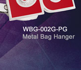 WBG-002G-PG_Metal_Bag_Hanger