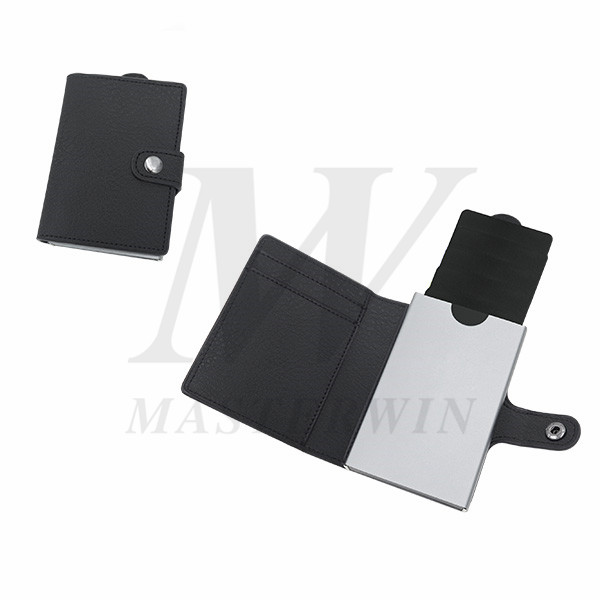 Alumium Credit Card Cases with PU Pouch_PC18-011PBA