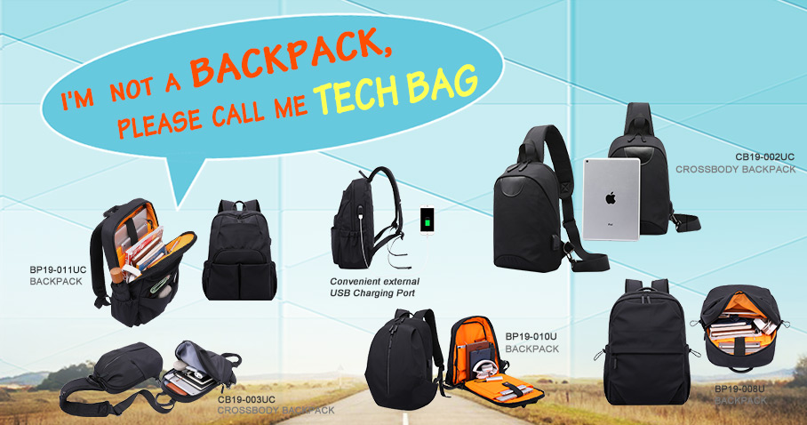 i am not a backpack,please call me tech bag